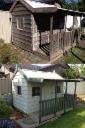 Kids Cubby House Before After